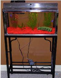 metal fish tank stands