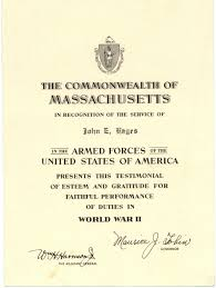 boston university certificate