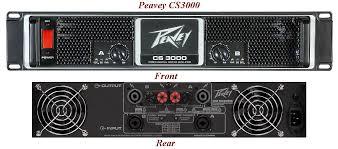 peavey power amplifiers