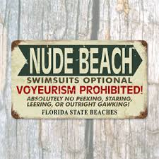 funny beach signs