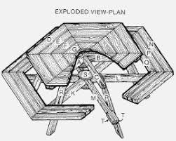 hexagon picnic tables
