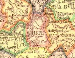 georgia gold map