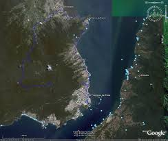 mapas via satelite