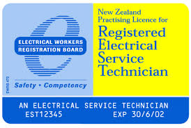 electrician certificate