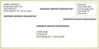 mail return address