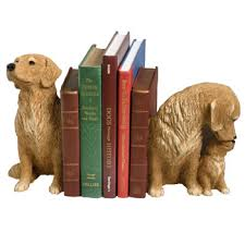 dog bookend