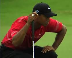 tiger woods red shirt