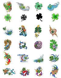 4 leaf clover designs