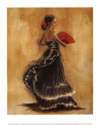 flamenco dancers art