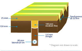 lateral drain