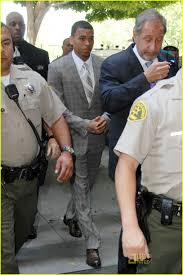 chris brown jail picture