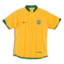 brazil soccer team jersey