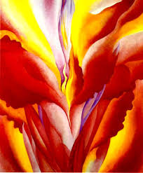 georgia o keeffe red canna