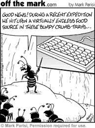 keyboard cartoons