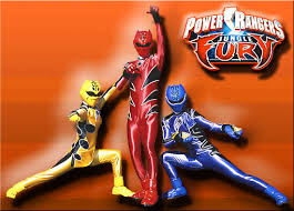 power rangers fury