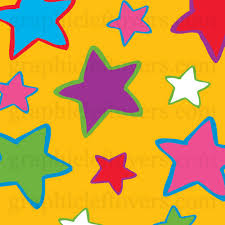 pictures of drawn stars