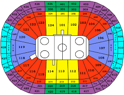 bell centre seating map