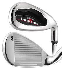 2004 big bertha irons