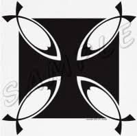 maltese cross design