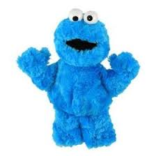 cookie monster figure