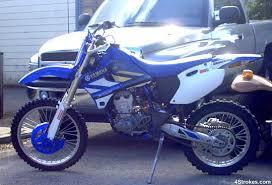 1999 wr400f