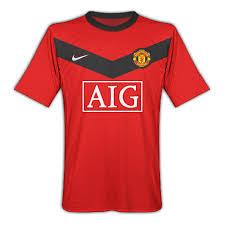 man u football shirt