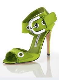 manolo blahnik green