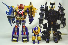 power rangers megazords