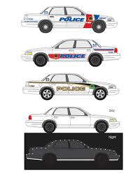 police car graphic
