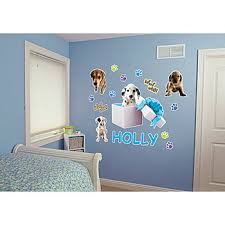 puppy wall stickers