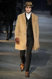 mens camel overcoat