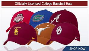 college baseball hat