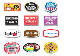 food labels examples