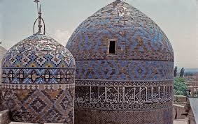 the mausoleums