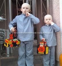 dr evil and mini me costume