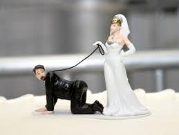 funny wedding figurines