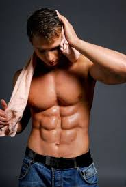 really ripped abs
