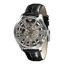 emporio armani meccanico watches
