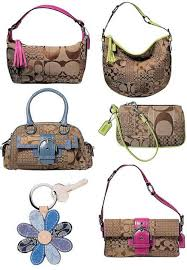 coach patchwork bags