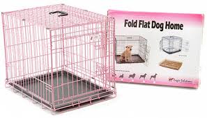 pink dog kennel