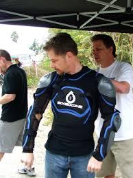 cycling body armor