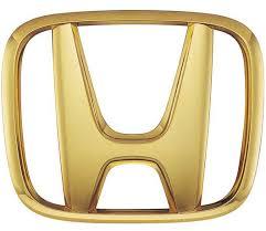 gold honda emblem