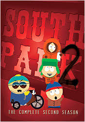 south park season 2 dvd