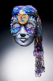 beaded masks