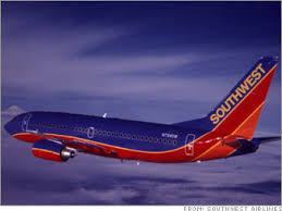 fewer airlines. Southwest