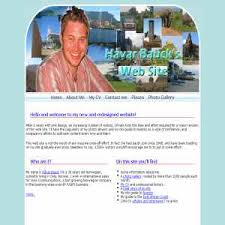 personal web site