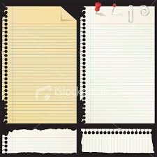 picture of notebook paper