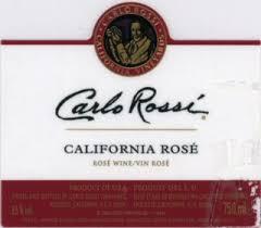 carlo rossi rose