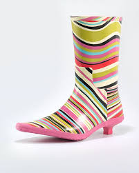 crazy rain boots