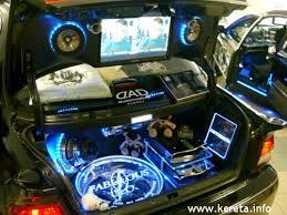 modified car interior